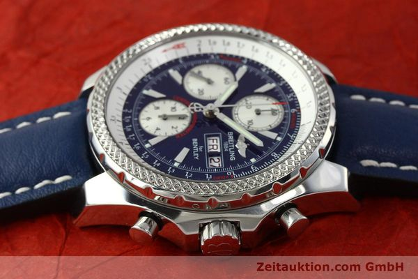 Used luxury watch Breitling Bentley chronograph steel automatic Kal. B13 ETA 7750 Ref. A13362  | 150508 05
