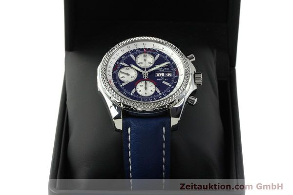 Used luxury watch Breitling Bentley chronograph steel automatic Kal. B13 ETA 7750 Ref. A13362  | 150508 07