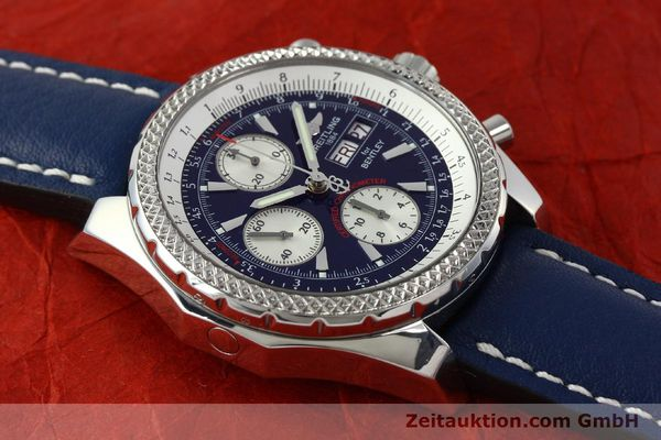Used luxury watch Breitling Bentley chronograph steel automatic Kal. B13 ETA 7750 Ref. A13362  | 150508 13