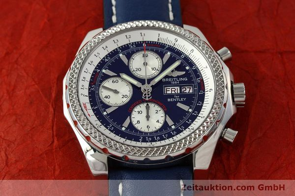 Used luxury watch Breitling Bentley chronograph steel automatic Kal. B13 ETA 7750 Ref. A13362  | 150508 14