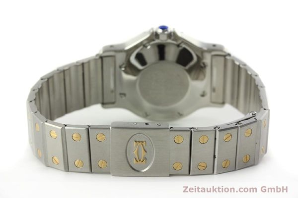 Used luxury watch Cartier Santos steel / gold automatic Kal. ETA 2671  | 150513 11