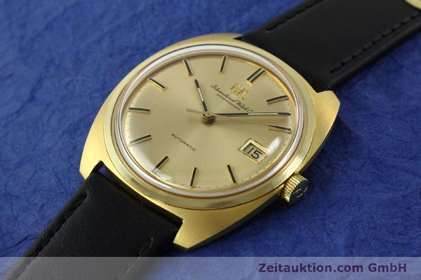 Used luxury watch IWC * 18 ct gold automatic Kal. 8541B VINTAGE  | 150518 01