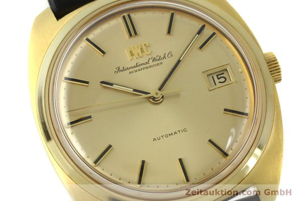 Used luxury watch IWC * 18 ct gold automatic Kal. 8541B VINTAGE  | 150518 02