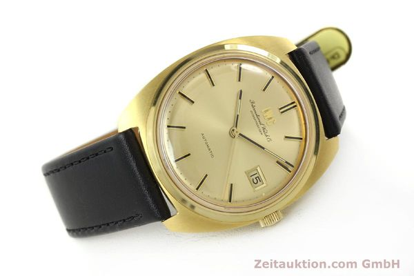 Used luxury watch IWC * 18 ct gold automatic Kal. 8541B VINTAGE  | 150518 03