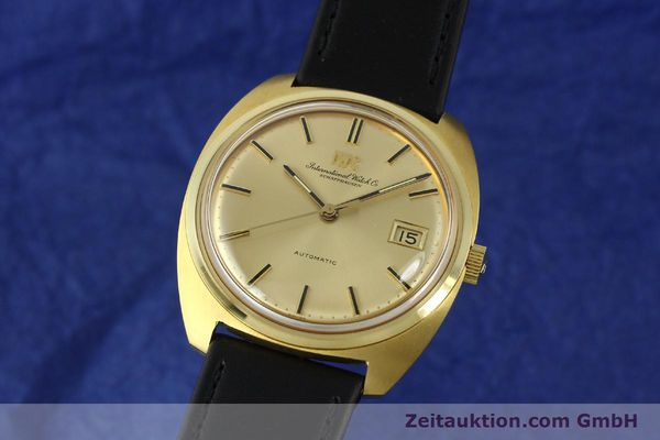 Used luxury watch IWC * 18 ct gold automatic Kal. 8541B VINTAGE  | 150518 04