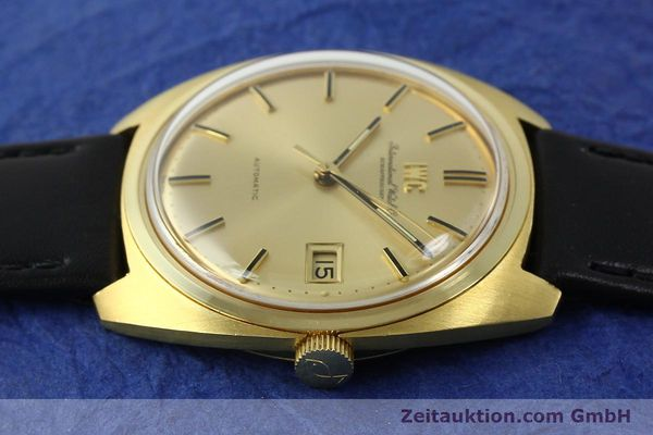 Used luxury watch IWC * 18 ct gold automatic Kal. 8541B VINTAGE  | 150518 05