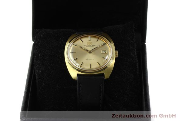 Used luxury watch IWC * 18 ct gold automatic Kal. 8541B VINTAGE  | 150518 07