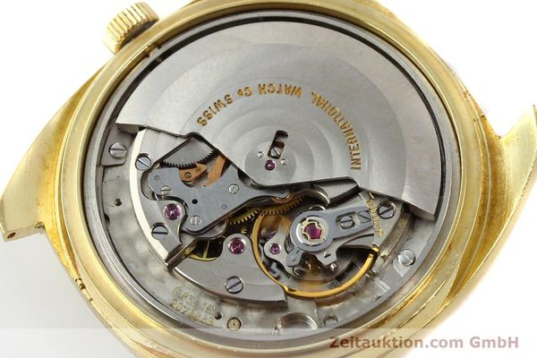 Used luxury watch IWC * 18 ct gold automatic Kal. 8541B VINTAGE  | 150518 10