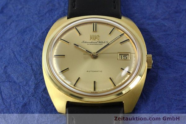 Used luxury watch IWC * 18 ct gold automatic Kal. 8541B VINTAGE  | 150518 14