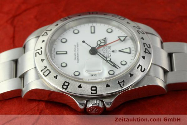 Used luxury watch Rolex Explorer II steel automatic Kal. 3185 Ref. 16570 T  | 150519 05