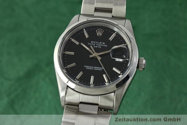 Used luxury watch Rolex Date steel automatic Kal. 3135 Ref. 15200  | 150534 04