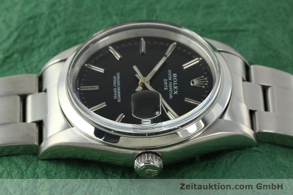 Used luxury watch Rolex Date steel automatic Kal. 3135 Ref. 15200  | 150534 05