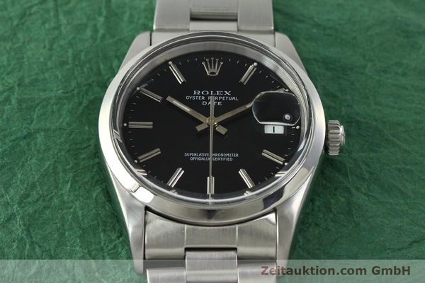 Used luxury watch Rolex Date steel automatic Kal. 3135 Ref. 15200  | 150534 17