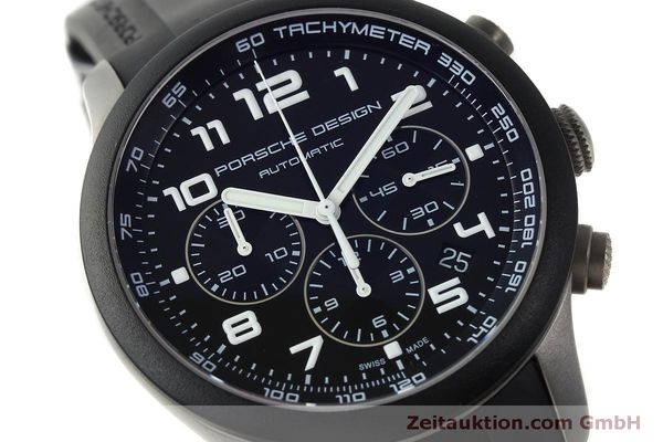 Used luxury watch Porsche Design Dashbord chronograph titanium automatic Kal. ETA 2894-2 Ref. 6612.15/2  | 150539 02