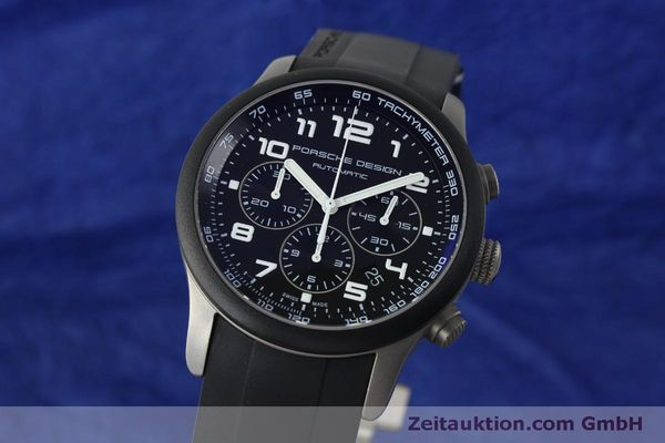 Used luxury watch Porsche Design Dashbord chronograph titanium automatic Kal. ETA 2894-2 Ref. 6612.15/2  | 150539 04
