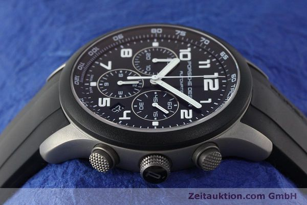 Used luxury watch Porsche Design Dashbord chronograph titanium automatic Kal. ETA 2894-2 Ref. 6612.15/2  | 150539 05