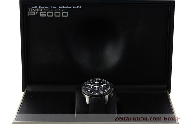 Used luxury watch Porsche Design Dashbord chronograph titanium automatic Kal. ETA 2894-2 Ref. 6612.15/2  | 150539 07