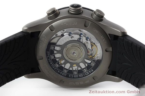 Used luxury watch Porsche Design Dashbord chronograph titanium automatic Kal. ETA 2894-2 Ref. 6612.15/2  | 150539 09