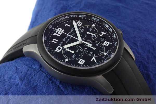 Used luxury watch Porsche Design Dashbord chronograph titanium automatic Kal. ETA 2894-2 Ref. 6612.15/2  | 150539 14
