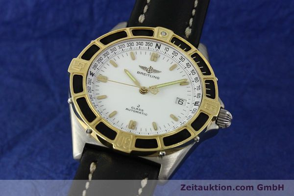 Used luxury watch Breitling J-Class steel / gold automatic Kal. ETA 2892-2 Ref. 80250  | 150545 04