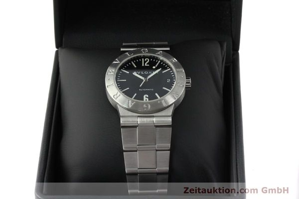 Used luxury watch Bvlgari Bvlgari steel automatic Kal. 220-MBA Ref. LC35S  | 150548 07