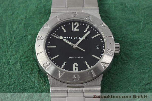 Used luxury watch Bvlgari Bvlgari steel automatic Kal. 220-MBA Ref. LC35S  | 150548 15