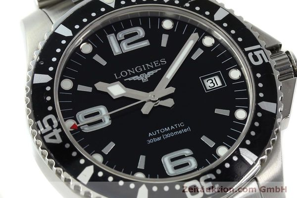 Used luxury watch Longines Conquest steel automatic Kal. L633.5 ETA 2824-2 Ref. L3.642.4  | 150551 02