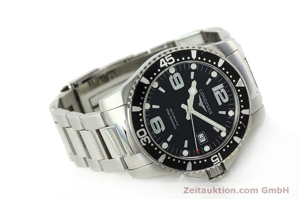 Used luxury watch Longines Conquest steel automatic Kal. L633.5 ETA 2824-2 Ref. L3.642.4  | 150551 03