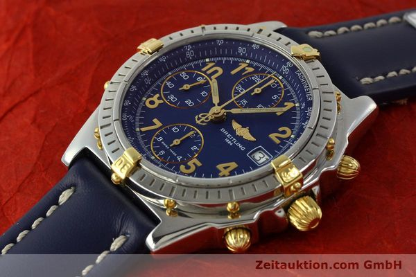 Used luxury watch Breitling Chronomat chronograph steel / gold automatic Kal. B13 ETA 7750 Ref. B13050.1  | 150554 01