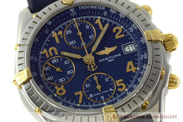 Used luxury watch Breitling Chronomat chronograph steel / gold automatic Kal. B13 ETA 7750 Ref. B13050.1  | 150554 02