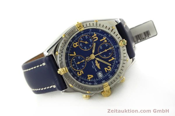 Used luxury watch Breitling Chronomat chronograph steel / gold automatic Kal. B13 ETA 7750 Ref. B13050.1  | 150554 03