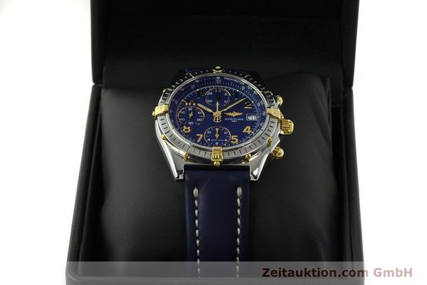 Used luxury watch Breitling Chronomat chronograph steel / gold automatic Kal. B13 ETA 7750 Ref. B13050.1  | 150554 07