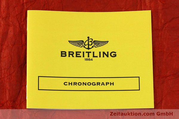 Used luxury watch Breitling Chronomat chronograph steel / gold automatic Kal. B13 ETA 7750 Ref. B13050.1  | 150554 11