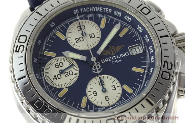 Used luxury watch Breitling Shark chronograph steel automatic Kal. B13 ETA 7750 Ref. A13051  | 150555 02