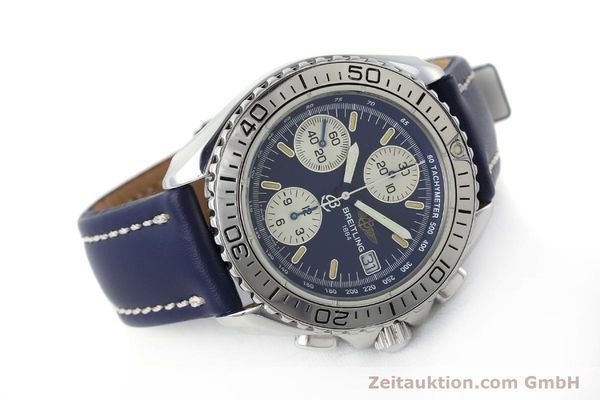 Used luxury watch Breitling Shark chronograph steel automatic Kal. B13 ETA 7750 Ref. A13051  | 150555 03