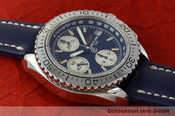 Used luxury watch Breitling Shark chronograph steel automatic Kal. B13 ETA 7750 Ref. A13051  | 150555 13
