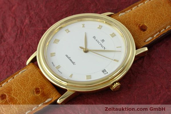Used luxury watch Blancpain Villeret 18 ct gold automatic Kal. 95 Ref. 0095-1418 58  | 150560 01