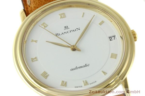 Used luxury watch Blancpain Villeret 18 ct gold automatic Kal. 95 Ref. 0095-1418 58  | 150560 02
