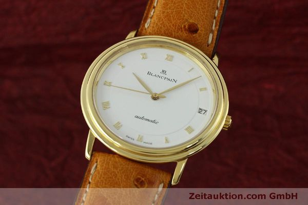 Used luxury watch Blancpain Villeret 18 ct gold automatic Kal. 95 Ref. 0095-1418 58  | 150560 04