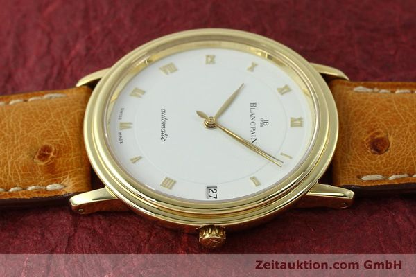 Used luxury watch Blancpain Villeret 18 ct gold automatic Kal. 95 Ref. 0095-1418 58  | 150560 05