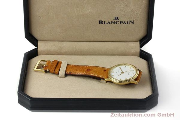 Used luxury watch Blancpain Villeret 18 ct gold automatic Kal. 95 Ref. 0095-1418 58  | 150560 07