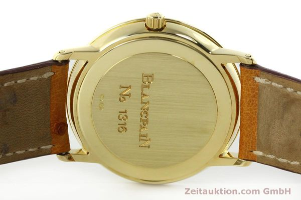 Used luxury watch Blancpain Villeret 18 ct gold automatic Kal. 95 Ref. 0095-1418 58  | 150560 09