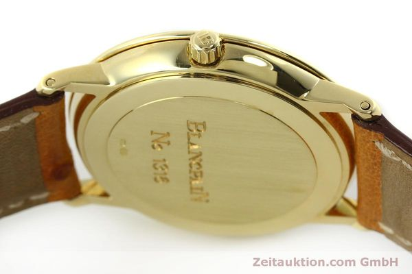 Used luxury watch Blancpain Villeret 18 ct gold automatic Kal. 95 Ref. 0095-1418 58  | 150560 12