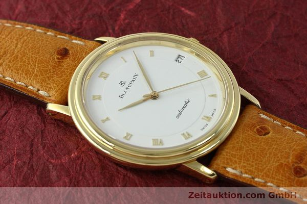 Used luxury watch Blancpain Villeret 18 ct gold automatic Kal. 95 Ref. 0095-1418 58  | 150560 15