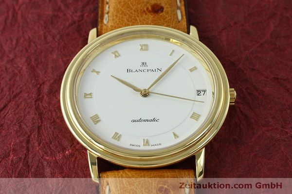 Used luxury watch Blancpain Villeret 18 ct gold automatic Kal. 95 Ref. 0095-1418 58  | 150560 16