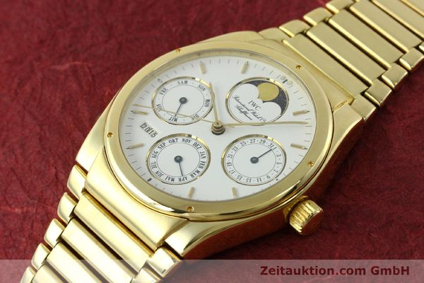 Used luxury watch IWC Ingenieur 18 ct gold automatic Kal. 3757 Ref. 9240  | 150561 01