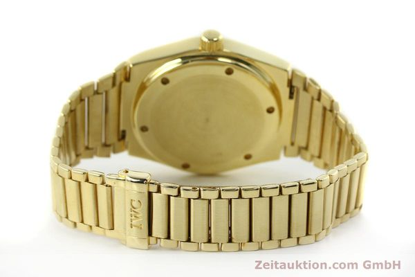 Used luxury watch IWC Ingenieur 18 ct gold automatic Kal. 3757 Ref. 9240  | 150561 13