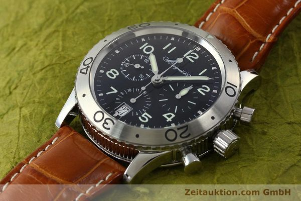 Used luxury watch Breguet Type XX chronograph steel automatic Kal. 582 Ref. 3820  | 150562 01