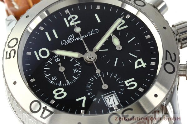 Used luxury watch Breguet Type XX chronograph steel automatic Kal. 582 Ref. 3820  | 150562 02