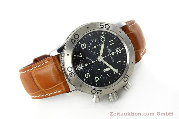 Used luxury watch Breguet Type XX chronograph steel automatic Kal. 582 Ref. 3820  | 150562 03